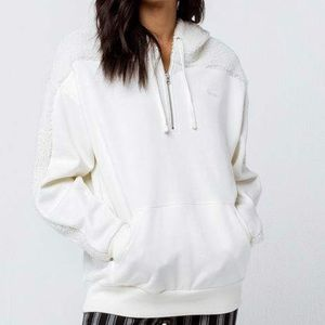 Brand new-Vans Fleece White Sweater